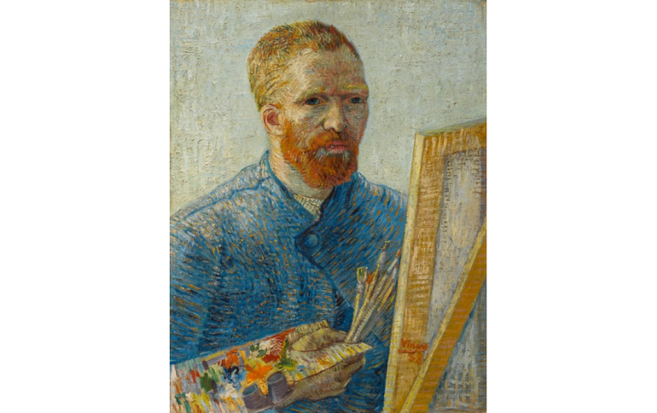 as a painter