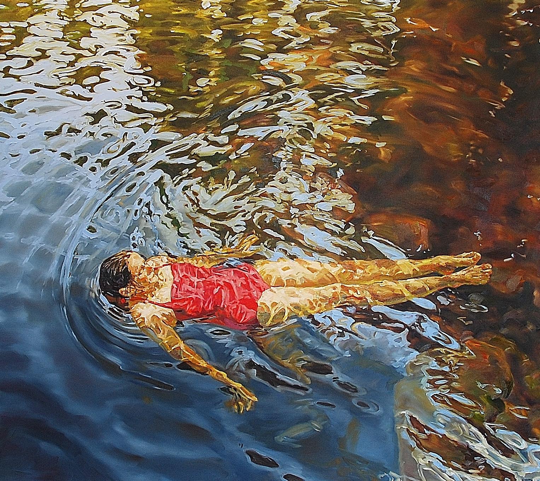 Quietude 48x54 oil on canvas 2016