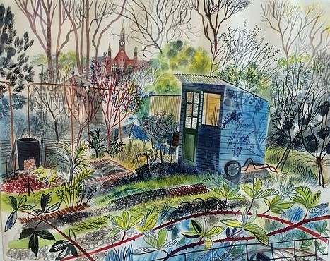 scarcroft-allotments-blue-shed